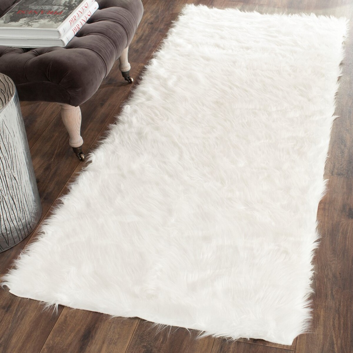 rug fss235a - faux sheep skin area rugs by safavieh