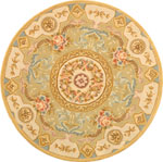 FT223A - French Tapis 4' X 4'