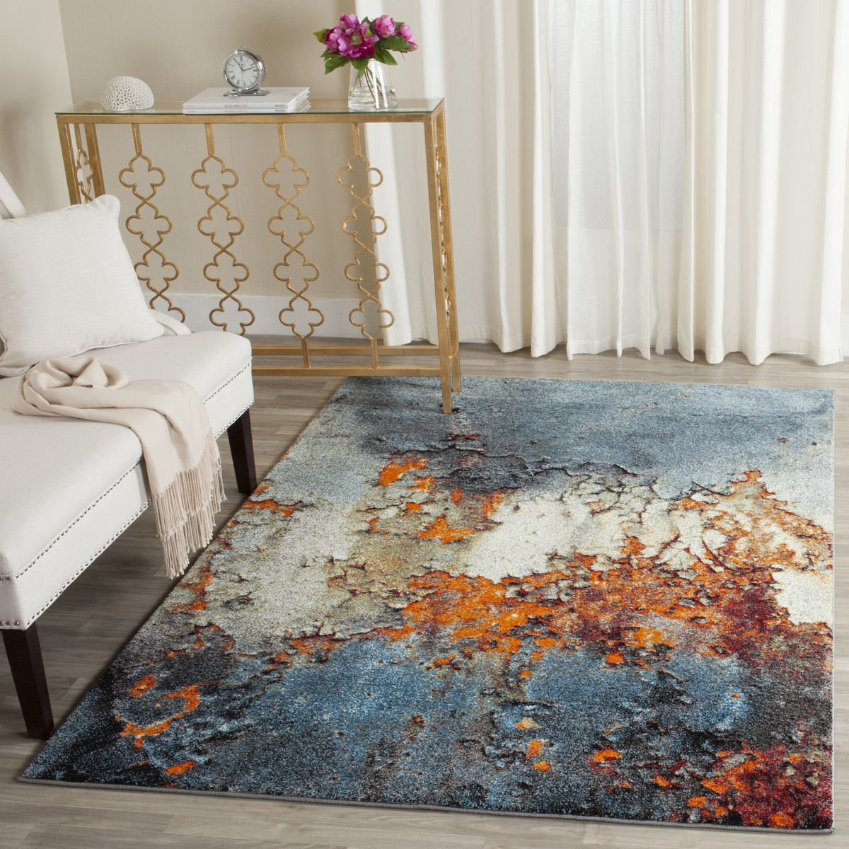 Rug Gla125b Glacier Area Rugs By Safavieh