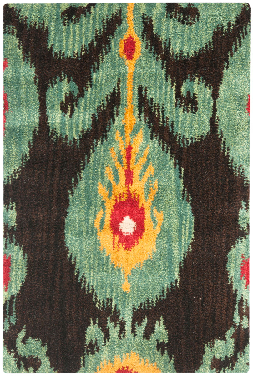 Rug Ikt219a Ikat Area Rugs By Safavieh