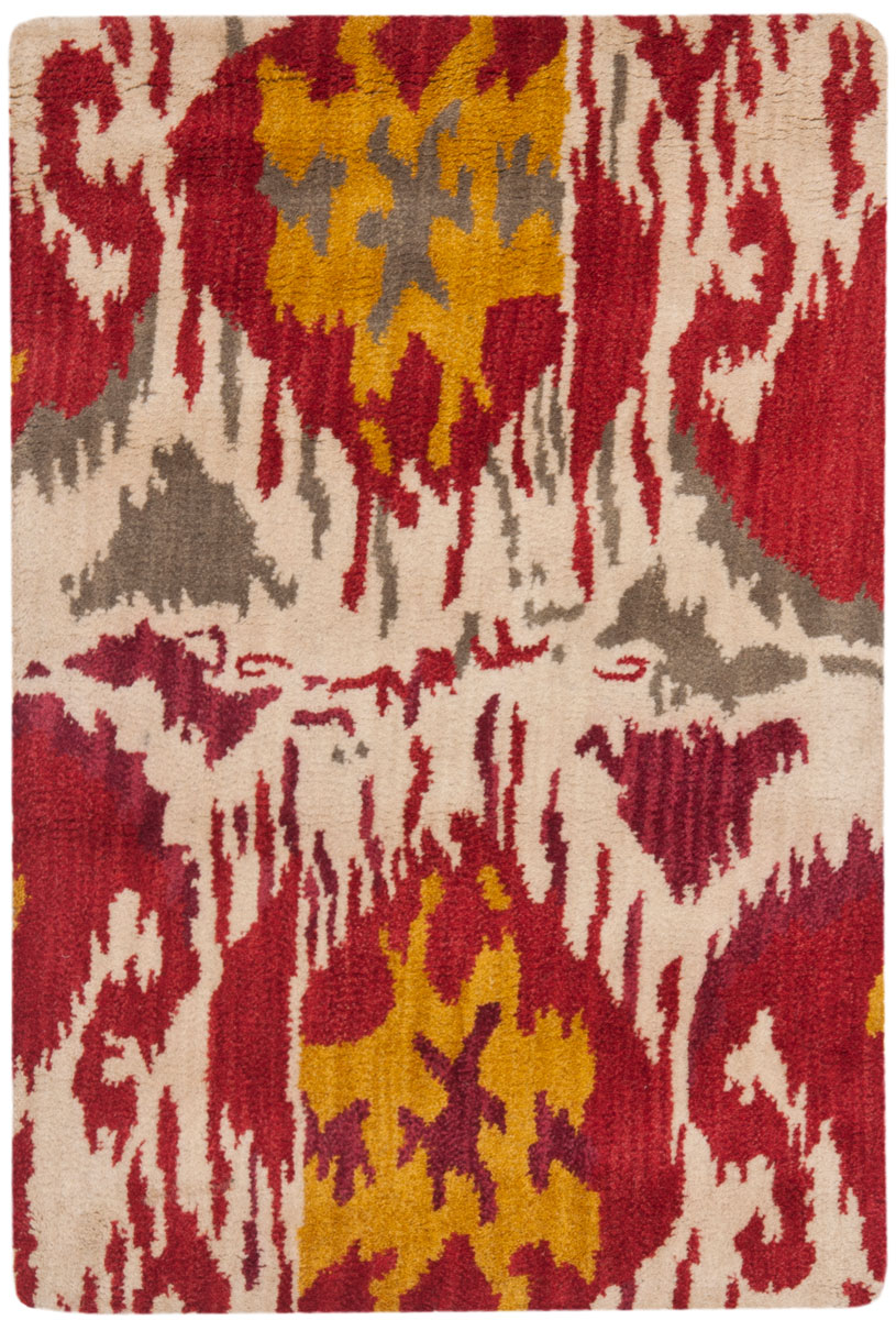 Rug Ikt226a Ikat Area Rugs By Safavieh