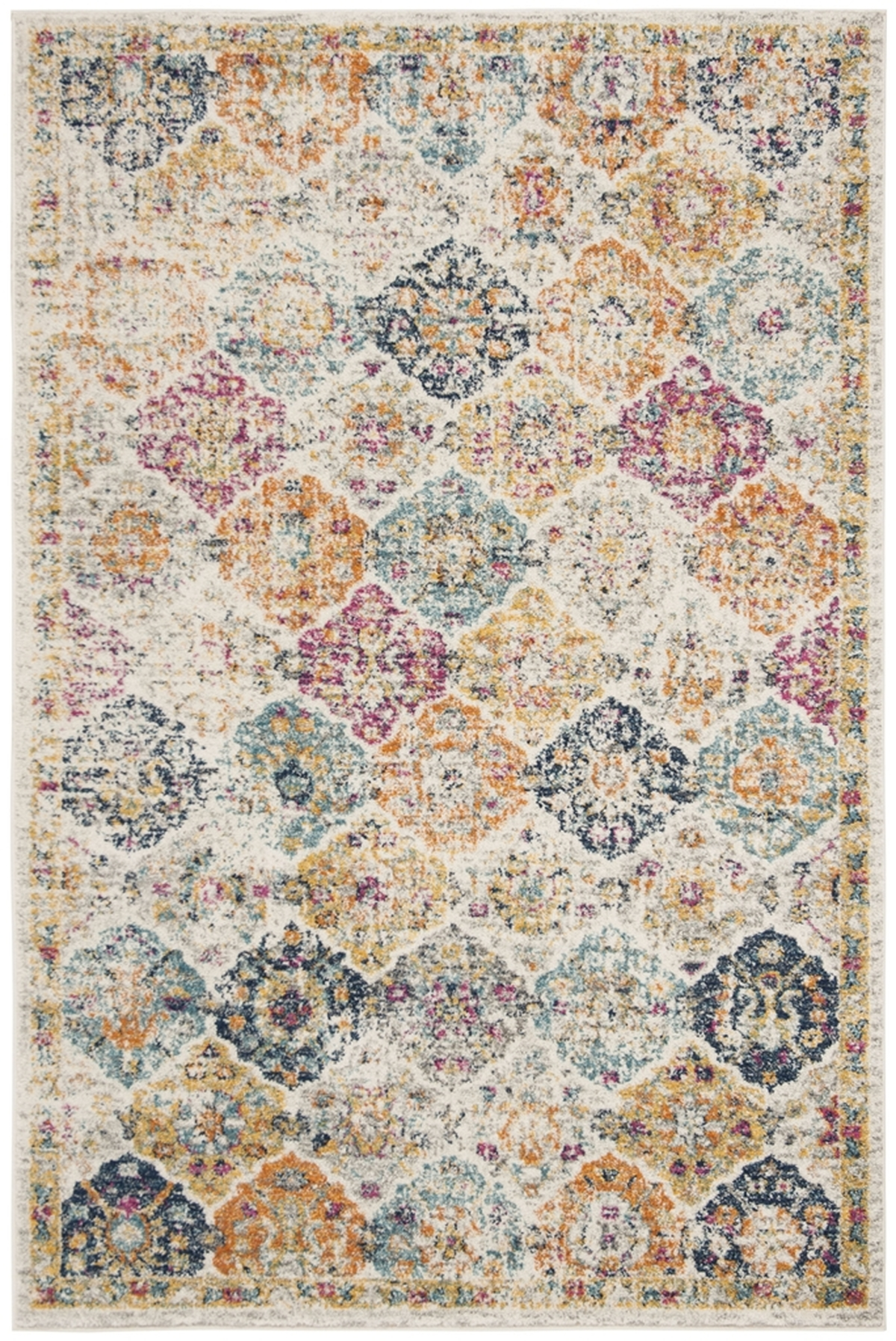 Floral Medallion Area Rug Safavieh Transitional Rugs