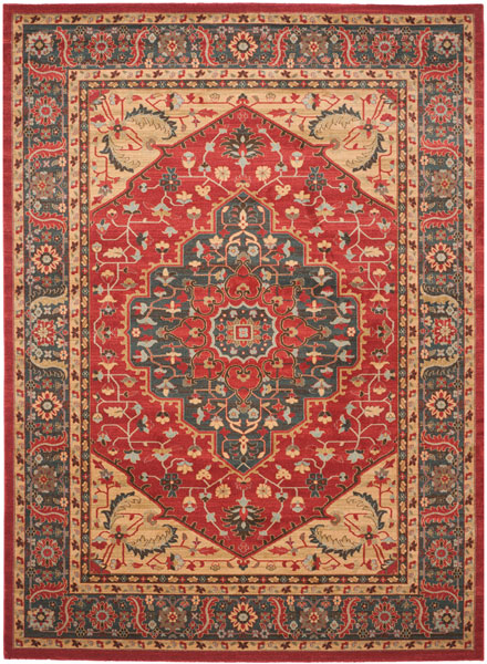 Rug Mah621c Mahal Area Rugs By Safavieh