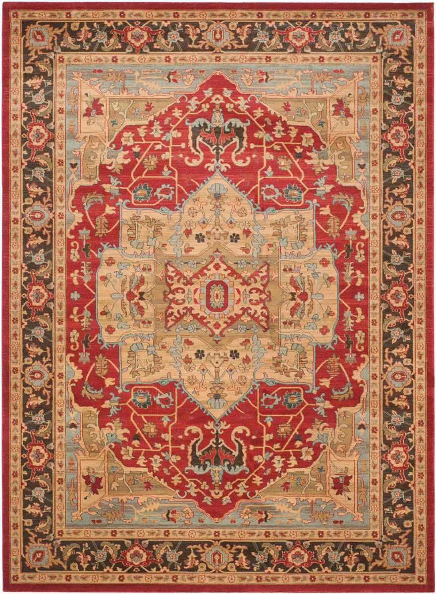 Rug Mah625b Mahal Area Rugs By Safavieh