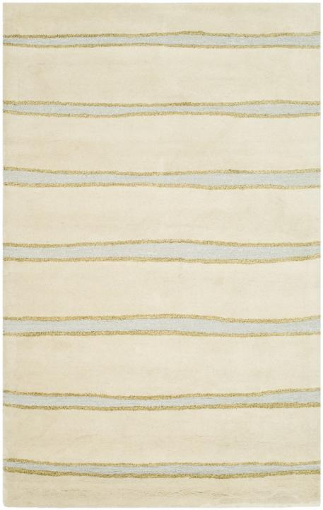 Rug Msr3617a Chalk Stripe Martha Stewart Area Rugs By