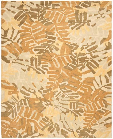 rug msr4548a palm leaf martha stewart area rugs by safavieh. Black Bedroom Furniture Sets. Home Design Ideas