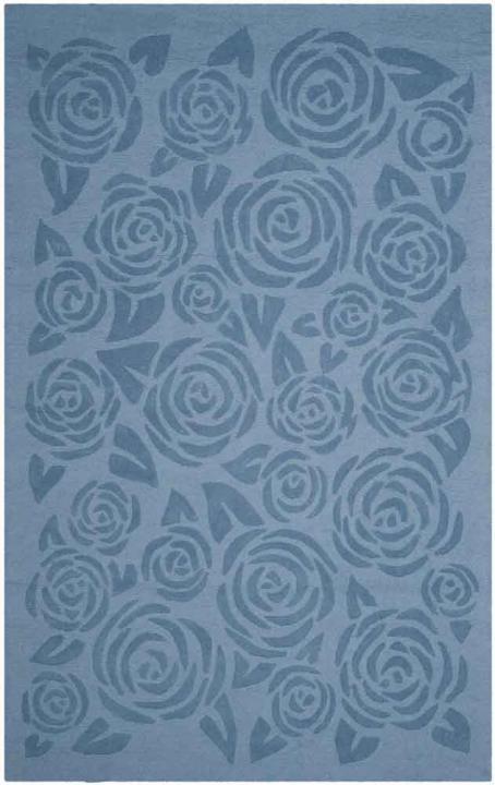MSR4618B Block Print Rose