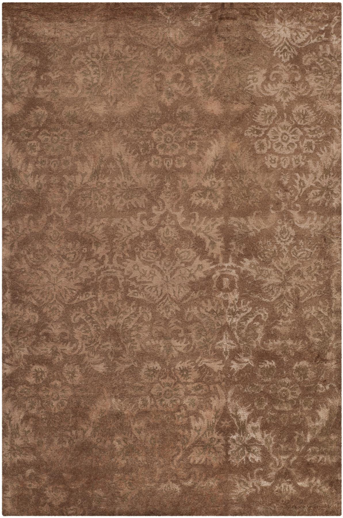 Brown Damask Rug Rugs Ideas