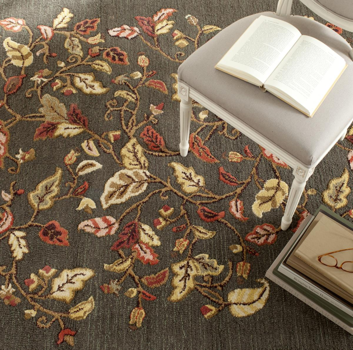 Rug Msr3611b Autumn Woods Martha Stewart Area Rugs By