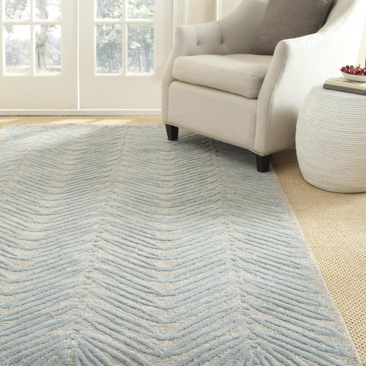 Rug Msr3612c Chevron Leaf Martha Stewart Area Rugs By