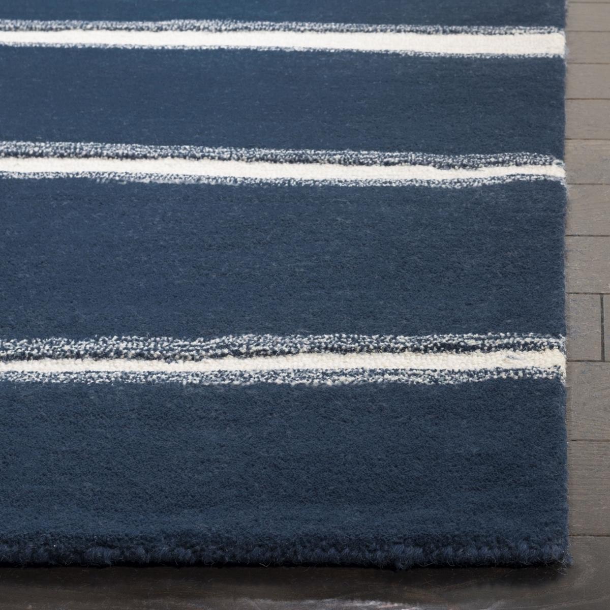 Rug Msr3617c Chalk Stripe Martha Stewart Area Rugs By