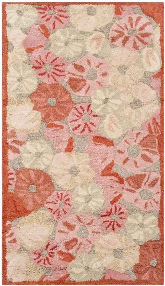 Rug Msr3625b Poppy Field Martha Stewart Area Rugs By