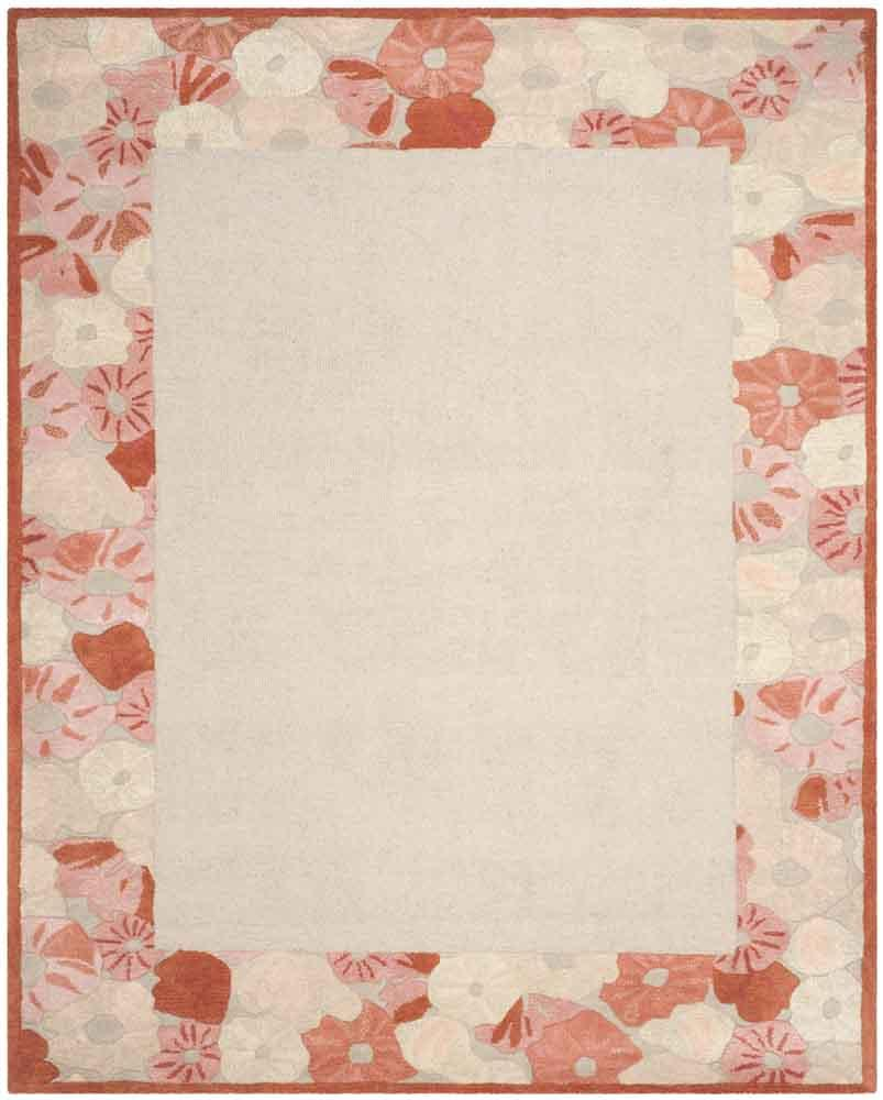 Rug Msr3629c Poppy Border Martha Stewart Area Rugs By