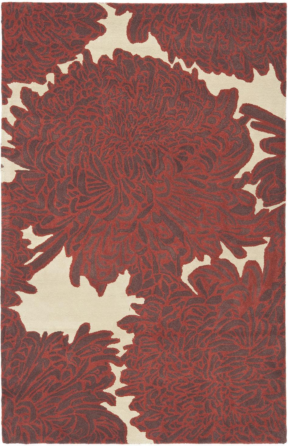 Rug Msr4542c Chrysanthemum Martha Stewart Area Rugs By