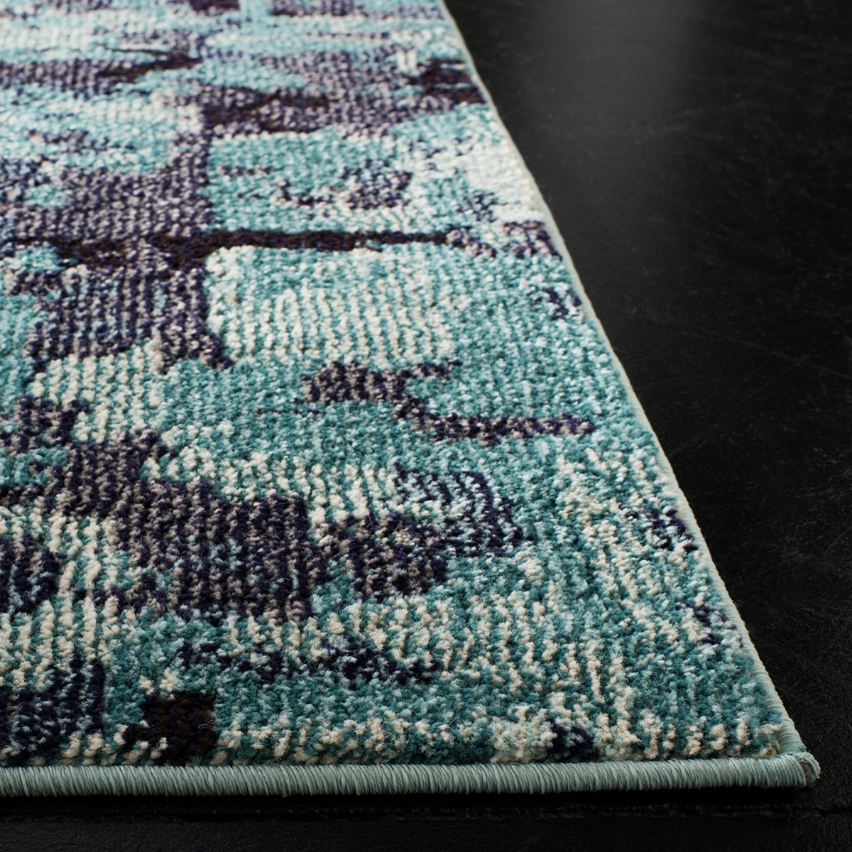 Aqua Watercolor Area Rug Monaco Mnc225j Safavieh Com