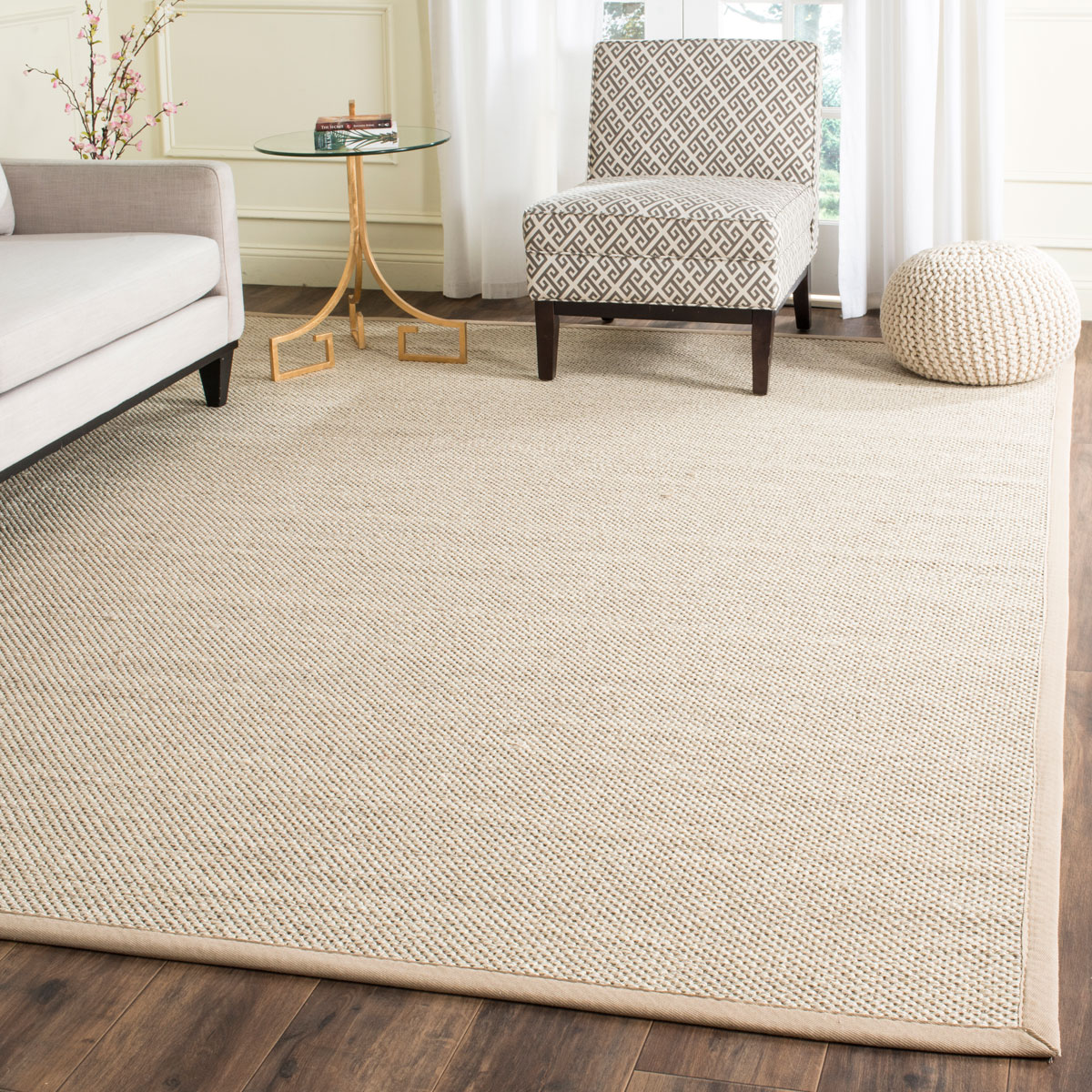 Rug nf143b natural fiber area rugs by safavieh for Area carpets and rugs