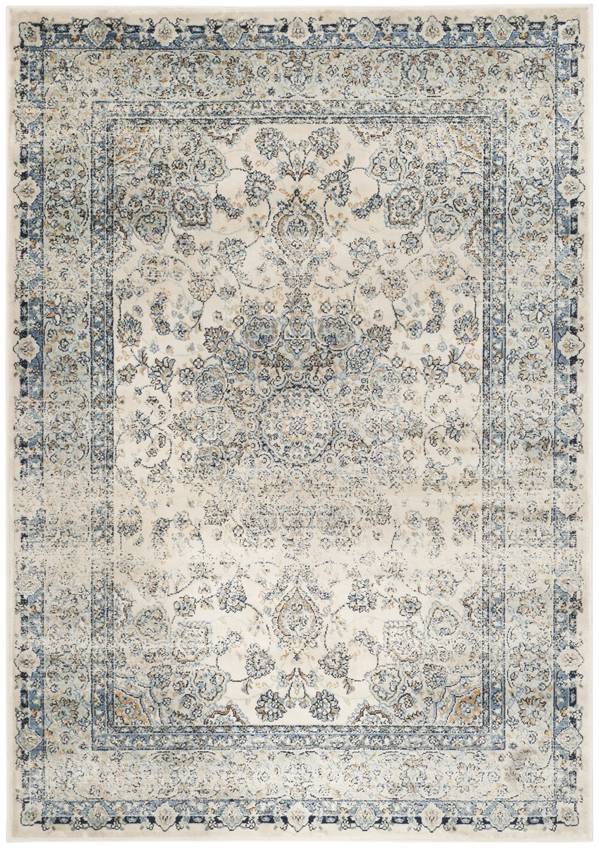 Rug pgv605a persian garden vintage area rugs by safavieh for Vintage style area rugs