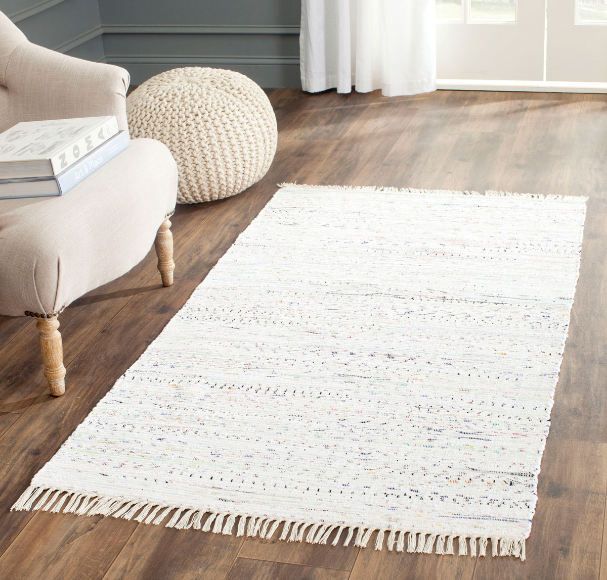 Rug Rar121g Rag Rug Area Rugs By Safavieh