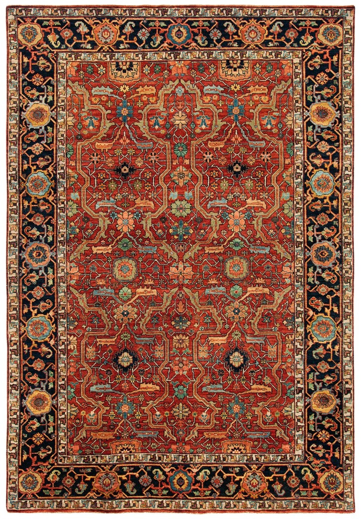 Rug Rlr9551a Richmond Ralph Lauren Area Rugs By Safavieh