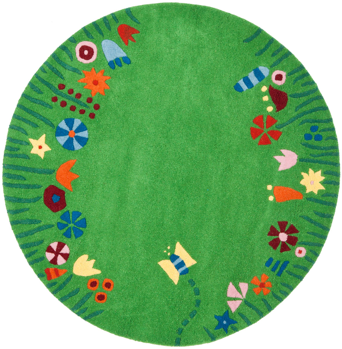 Childrens round rugs rugs ideas for Round rugs for kids