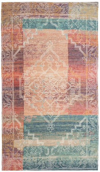 Well-liked Color Printed Flat Weave Rug | Saffron Cotton Rugs - Safavieh XY46