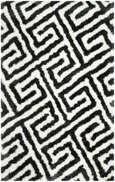 Black White Shag Carpet Barcelona Shags Safavieh Com