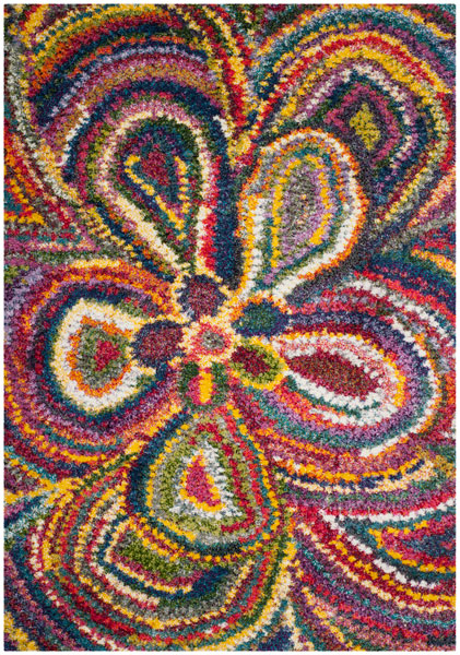 Multi Color Shag Rugs Fiesta Shag Rug Collection