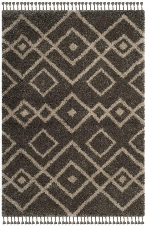 Ideal Moroccan Fringe Shag Rugs | Tribal Design Rug - Safavieh FJ99