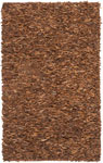 "LSG421B - Leather Shag 5' 0"" x 8' 0"""