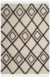 MFG244B - Moroccan Fringe Shag 5ft-1in X 7ft-6in