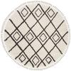 MFG244B - Moroccan Fringe Shag 6ft-7in X 6ft-7in