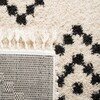 MFG246B - Moroccan Fringe Shag 5ft-1in X 7ft-6in