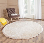 SBS562C - South Beach Shag 6ft X 6ft Round