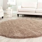 SG151-2424 - California Shag 6ft-7in X 6ft-7in Round