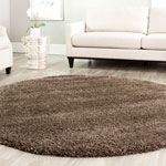 SG151-8181 - California Shag 6ft-7in X 6ft-7in Round