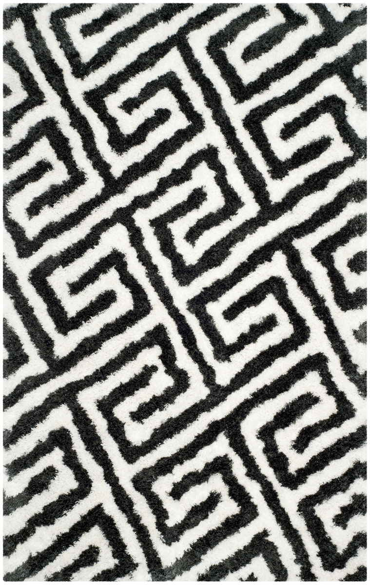 Black White Shag Carpet Barcelona