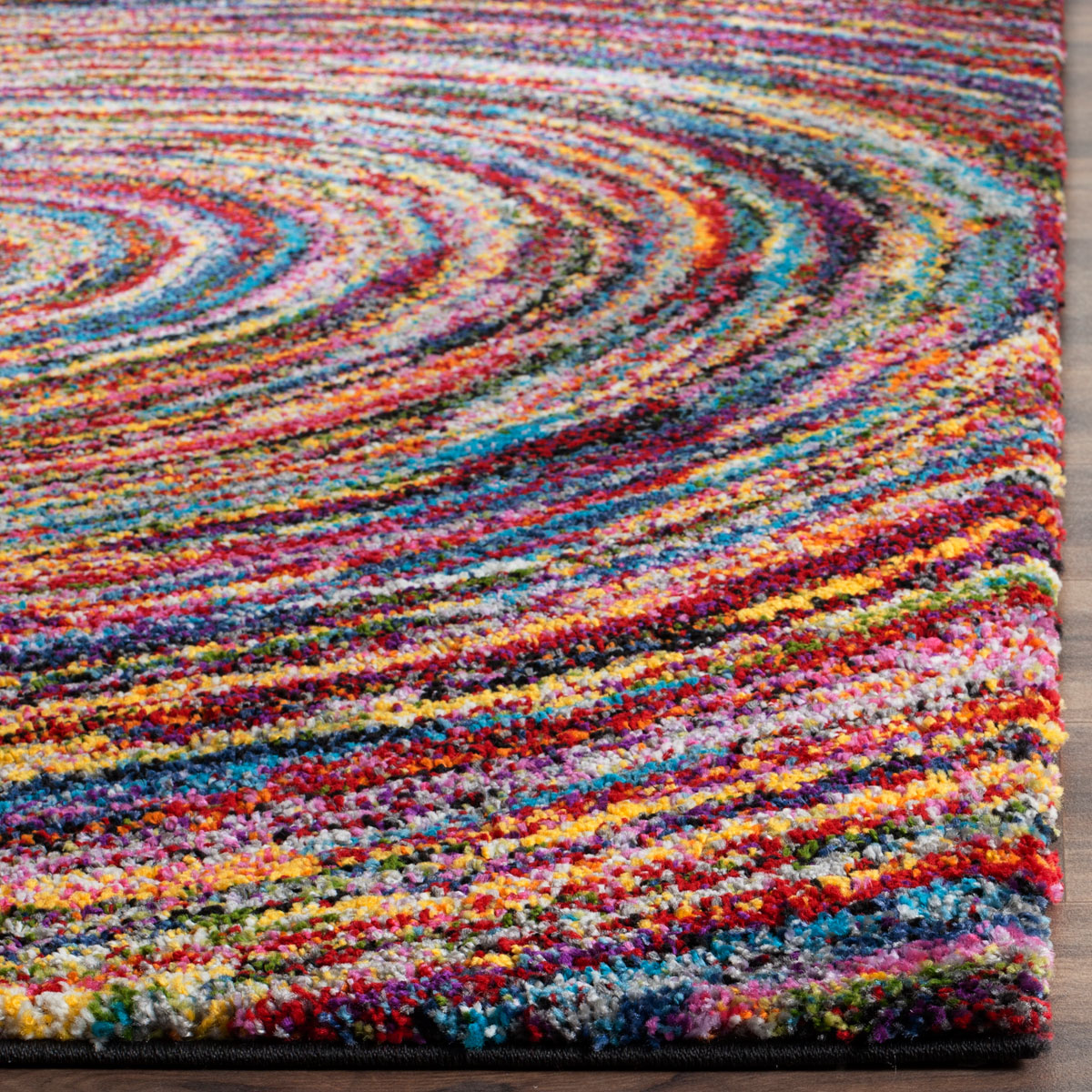 Colorful Shag Rug Fiesta Shag Collection Safavieh
