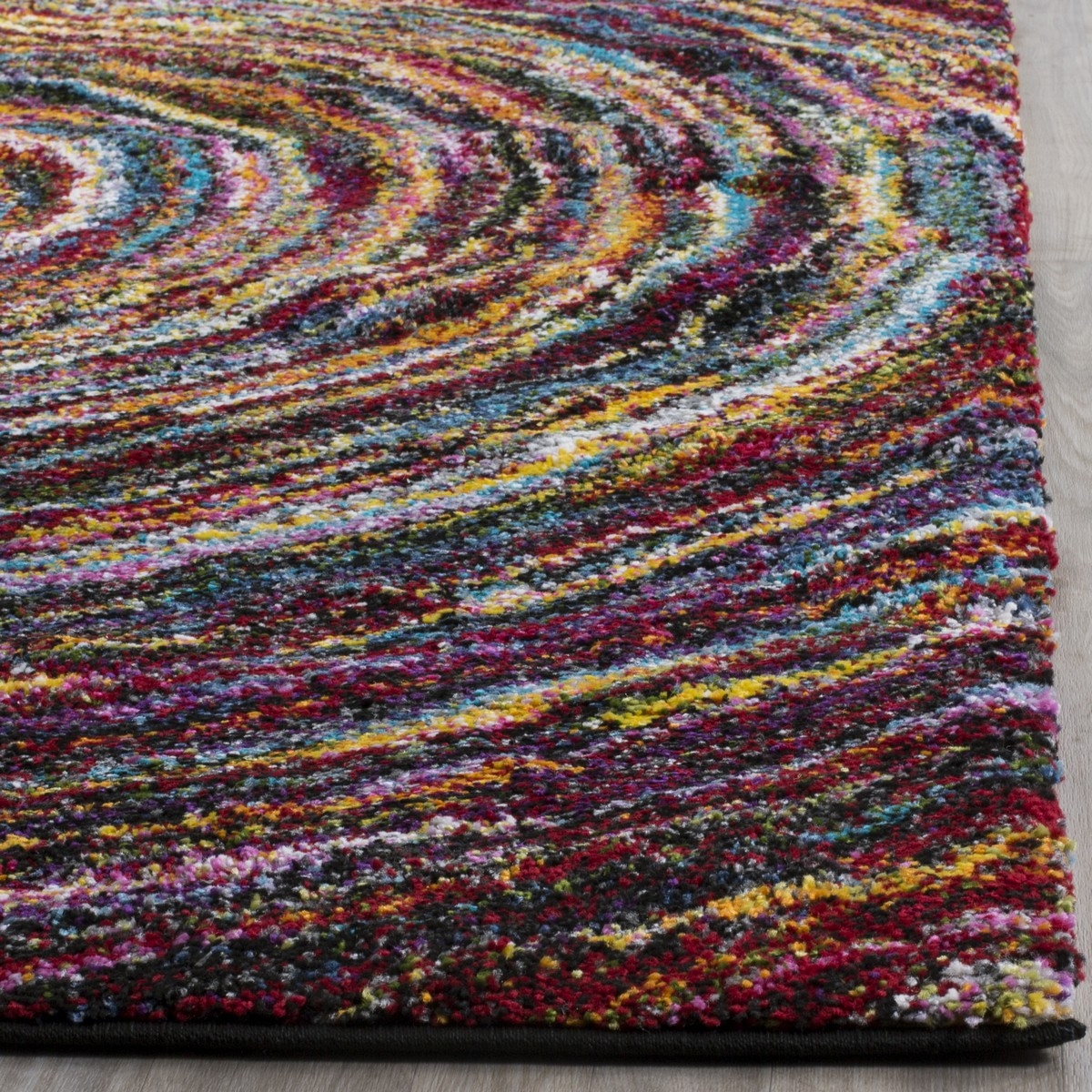 Colorful Shag Rug Fiesta Shag Collection Safavieh