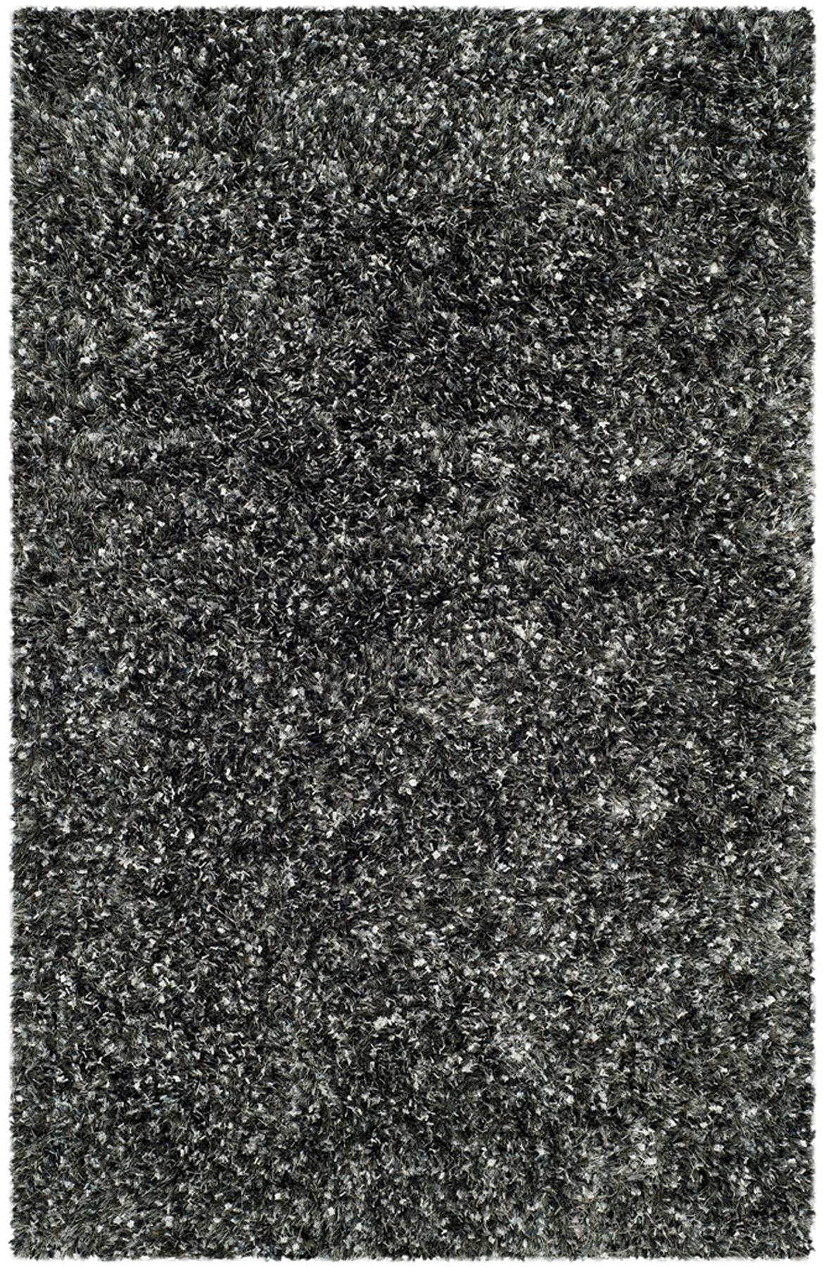 plush charcoal shag rug malibu shag collection safavieh