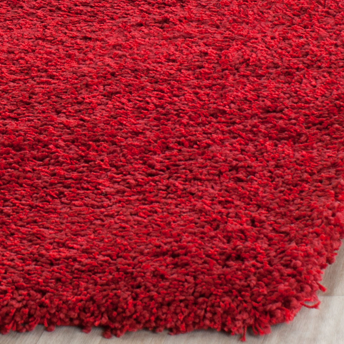 Fabulous Plush Red Shag Rug | California Shags - Safavieh MX67