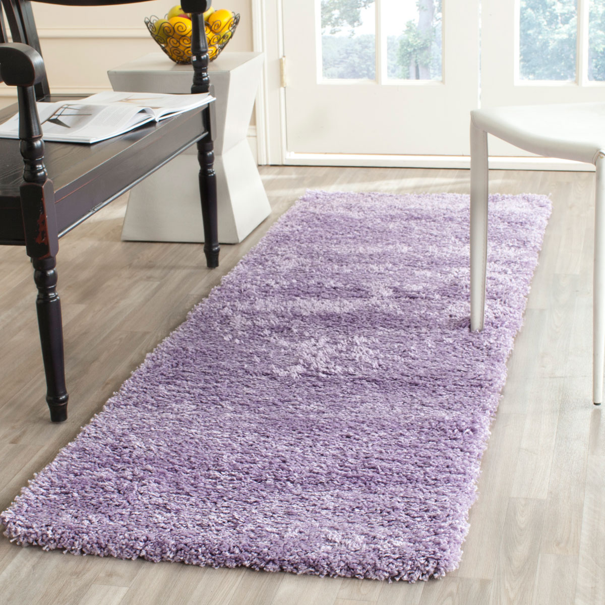 Plush Pile Lilac Shag Rug California Shags Safavieh