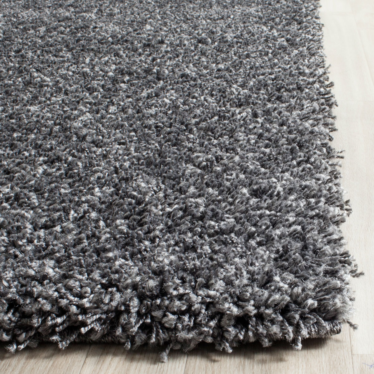 Safavieh Toronto Shag Sgt711a Light Grey Area Rug Addison