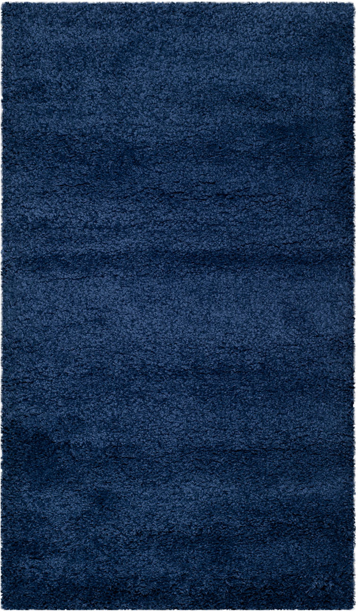 Navy Blue Shag Rug Milan Collection Safavieh Com