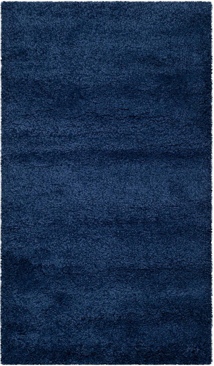 Navy Blue Shag Rug Milan Collection Safavieh Com