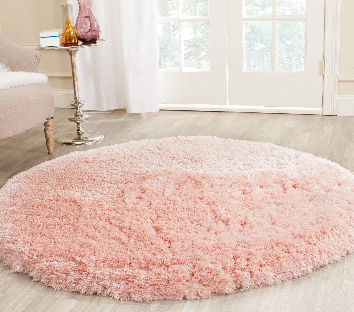 Pink Shag Arctic Shag Collection Safavieh Com