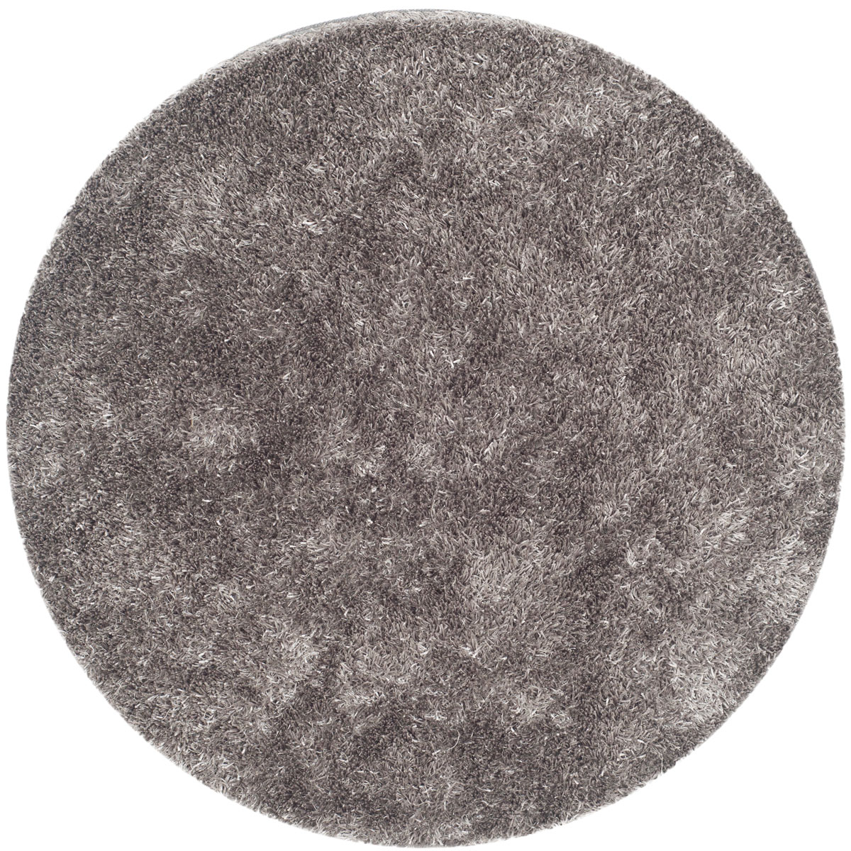 Plush Pile Grey Shag Rug New Orleans Collection Safavieh