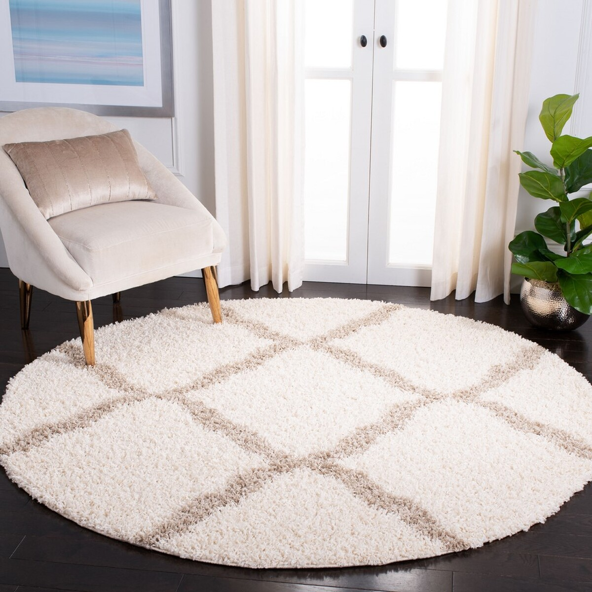 Rug SGD257B - Dallas Shag Area Rugs by Safavieh