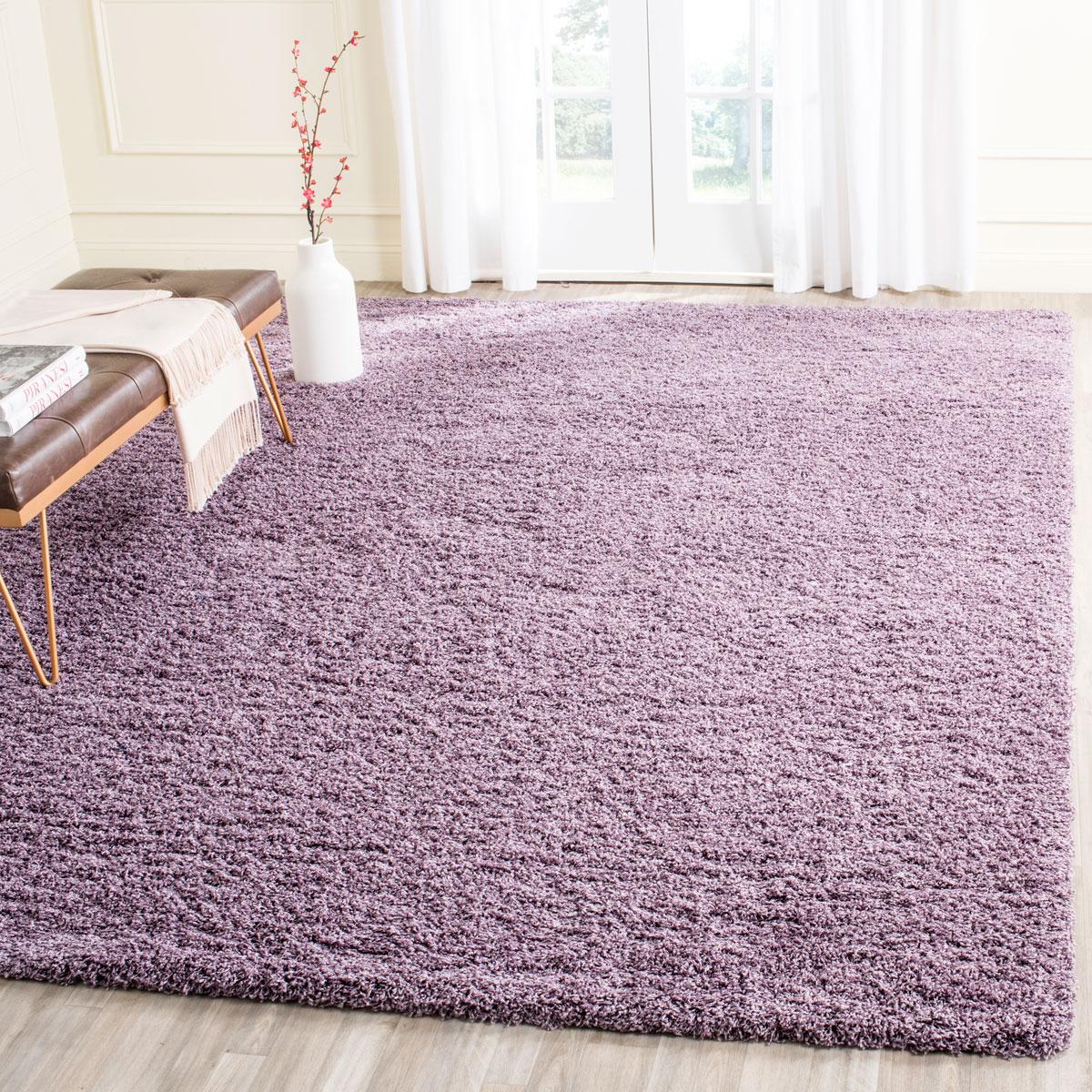 Lush Purple Shag Rug Laguna Shags Safavieh Com