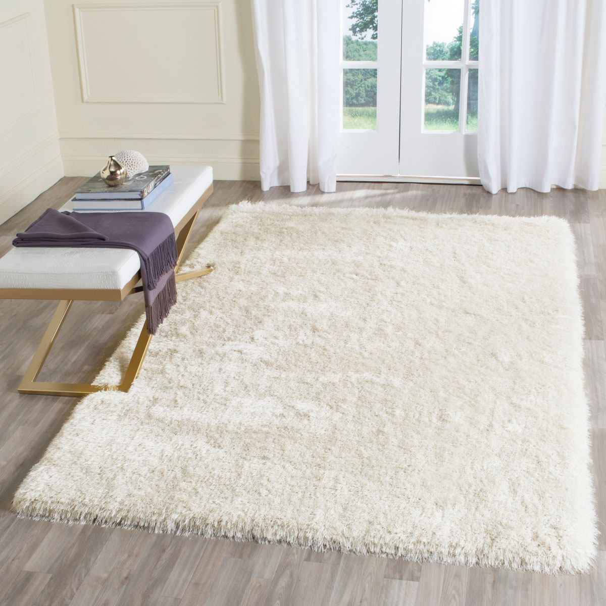 Rug SGP256A - Plush Shag W/ Memory Foam Area Rugs by Safavieh
