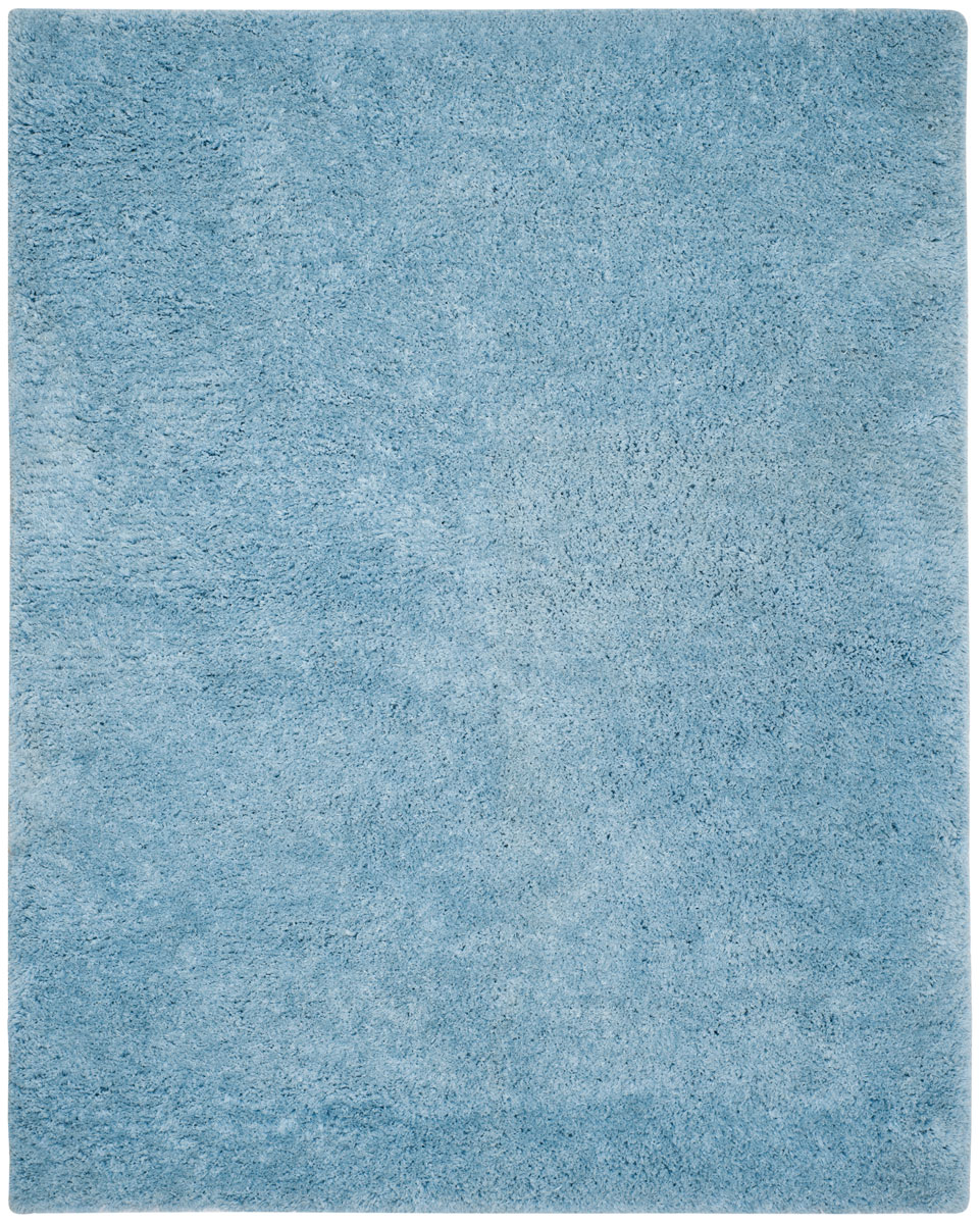 light blue shag | supreme shag collection - safavieh